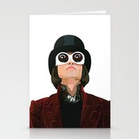 willy wonka Stationery Cards featuring Willy Wonka by Natalié Art&Living