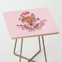 Red Fox Side Table
