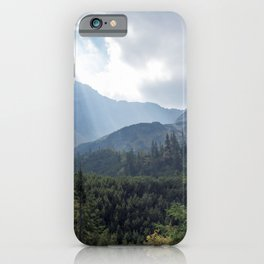 Hikers Paradise iPhone Case
