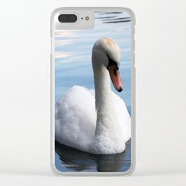 Swan Clear iPhone Case