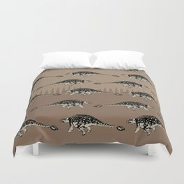 ChocoPaleo: Ankylosaurus Duvet Cover