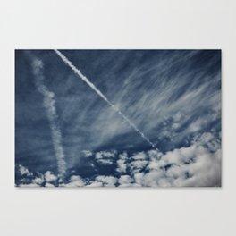 Sapphire Sky Canvas Print