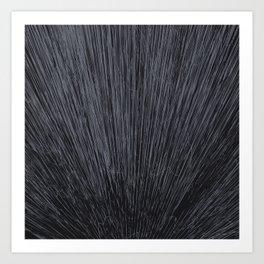 Electroshock Charcoal Art Print