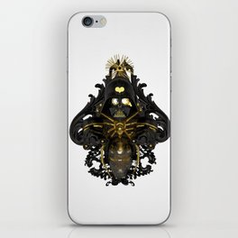 Black stress iPhone Skin