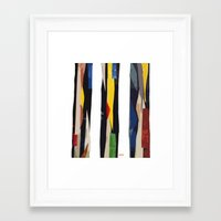 subway Framed Art Prints featuring Subway by Myles Hunt