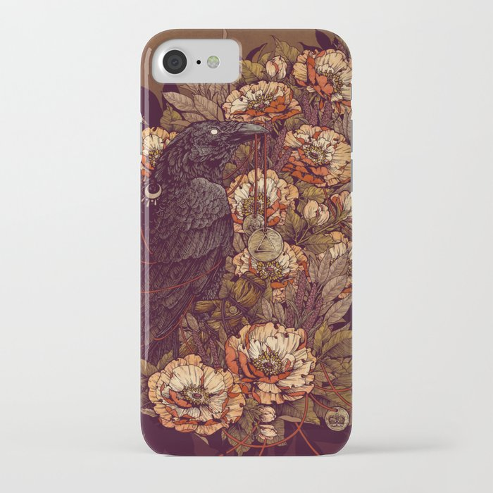 corvus corax iphone case