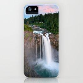 Snoqualmie Falls, Wa iPhone Case