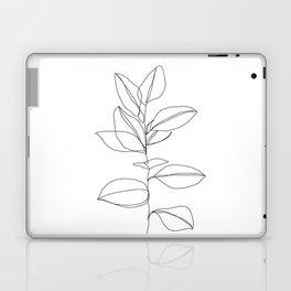 One line plant illustration - Dany Laptop & iPad Skin
