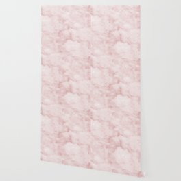 Sivec Rosa - cloudy pastel marble Wallpaper