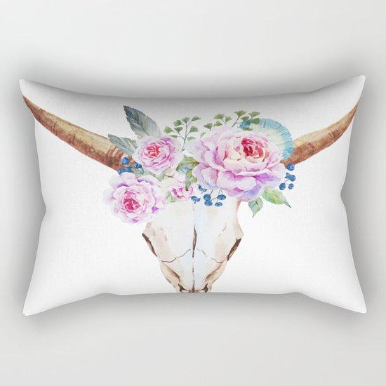 Animal Skull 07 Rectangular Pillow