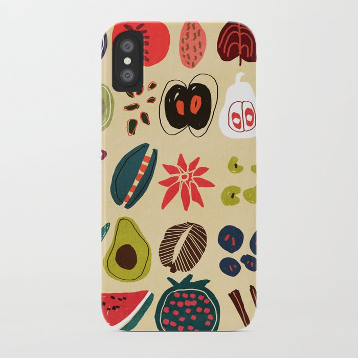 Fruit and Spice Rack iPhone Case