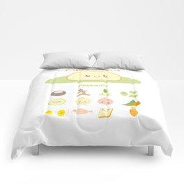 Yellow Rice Manado Comforters