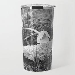 Flora Series - a frosty morning - Travel Mug