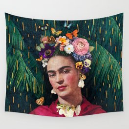 Frida Kahlo :: World Women's Day Wall Tapestry