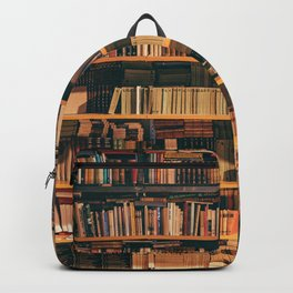 Library Bookshelf Backpack