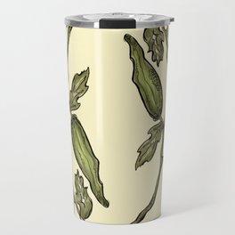 Botanical Okra Travel Mug