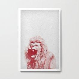 Lion 01 Metal Print