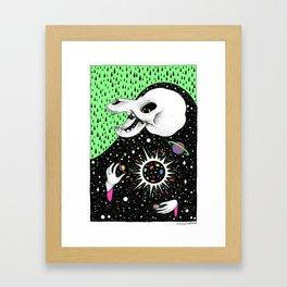 Astral Deity 4 Framed Art Print