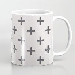 Stone Cross Pattern Coffee Mug
