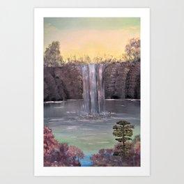 Tranquil Falls Art Print