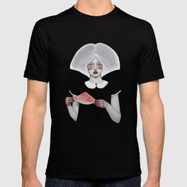 Zora in Black T-shirt