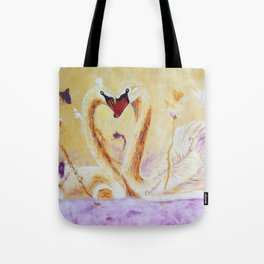 A Little Kiss | Un petit bec Tote Bag
