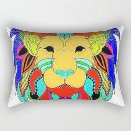 Let the jungle speak Rectangular Pillow