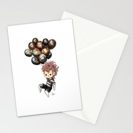 Space Balloons- Flying Stationery Cards