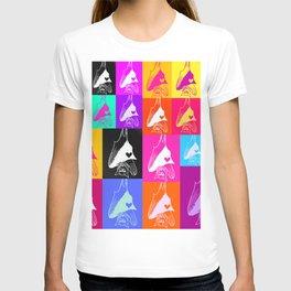 Rainbow Bat Montage T-shirt