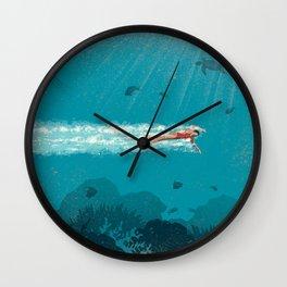 Comfort Zone Wall Clock