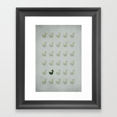 The Ugly Duckling - NO TEXT Framed Art Print