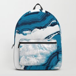 Blue Agate #2 #gem #decor #art #society6 Backpack