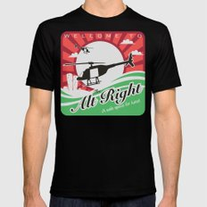 Welcome to the Alt Right Black X-LARGE Mens Fitted Tee