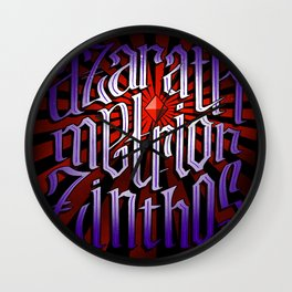 Azarath Metrion Zinthos Wall Clock