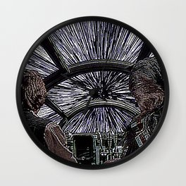 Han and Chewie Wall Clock