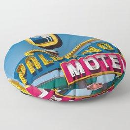Palomino Motel II Floor Pillow