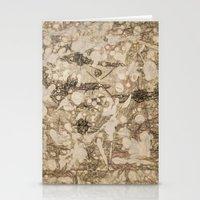 da vinci Stationery Cards featuring da Vinci Angels by Bruce Stanfield
