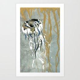 Jellyfish Voyage Art Print