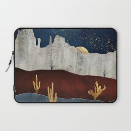 Moonlit Desert Laptop Sleeve