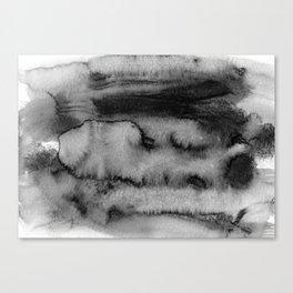 Melting peisage Canvas Print