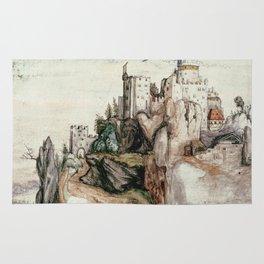 Albrecht Durer - Fortified Castle Rug
