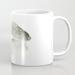 Lips Silver Coffee Mug
