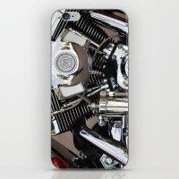 harley iPhone & iPod Skins featuring Harley  by Marieken