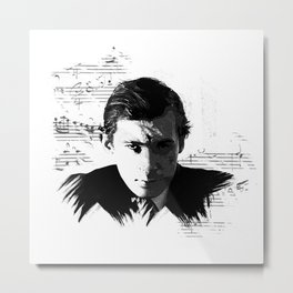 Glenn Gould - Canadian Pianist, Composer Metal Print