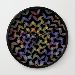 Exotic Leaves Wall Clock