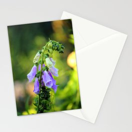 Light Purple Foxglove Stationery Cards