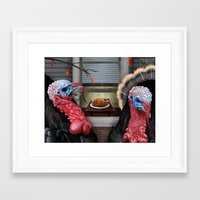 thanksgiving Framed Art Prints featuring Thanksgiving by Stevie Ray Thompson