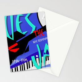 Modernist Blues / Jazz venue poster Stationery Cards