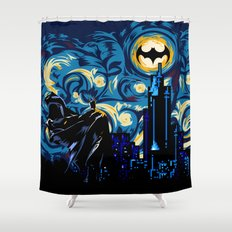 Starry Knight iPhone 4 4s 5 5c 6, pillow case, mugs and tshirt Shower Curtain