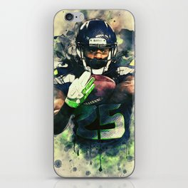 Richard Sherman iPhone Skin